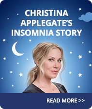 Christina Applegate's Personal Insomnia Story