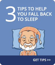 Three tips to help you fall back to sleep.