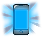 Sleeping tip 3: A smartphone screen's blue light may affect sleep.