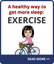 Learn how regular exercise can promote a better night's sleep.